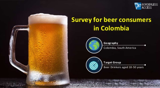 Survey to analyze beer consumers in Colombia