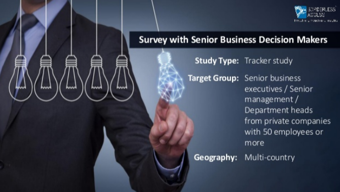 media consumption habits, attitudes, and spending habits of senior global business executives.