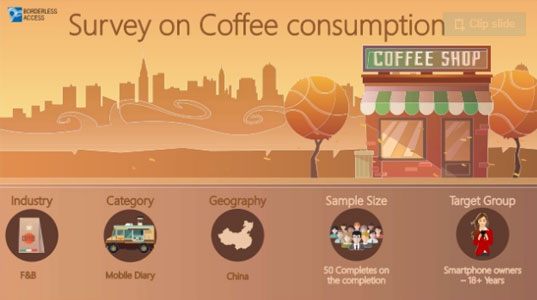 Research study on coffee consumption