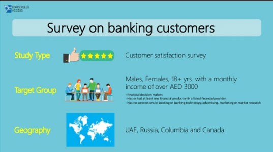 Survey on customer satisfaction banking customers