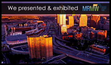 We are presenting & exhibiting MRMW NA