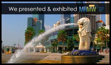 We are presenting & exhibiting MRMW APAC, Singapore