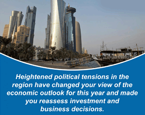 Summary of our poll study to understand (UAE & KSA)audience sentiments amid the heightened geopolitical tensions in the Middle-East region.