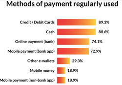 Consumer perceptions of digital payment methods: South Africa