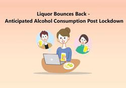 Liquor bounces back: Anticipated alcohol consumption post lockdown