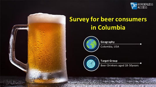 Survey to analyze beer consumers in Columbia