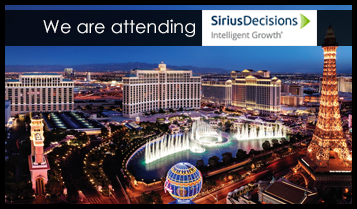 We are attending Sirius Decisions Summit 2018
