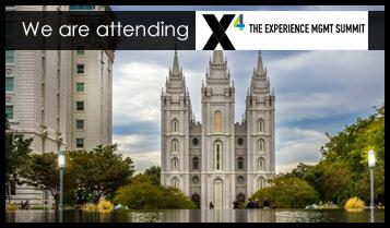 We are attending X4 Summit (Qualtrics)