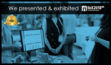 We are presenting & exhibiting (Gold Sponsor) IIeX NA