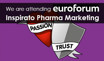 "2019 steht die Inspirato Konferenz Pharma Marketing unter dem Motto ""When PASSION meets TRUST"""