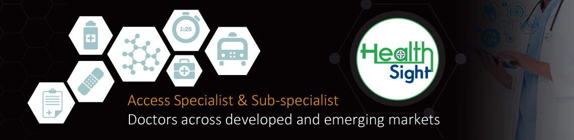 Access Specialist & Sub-specialist Doctors across developed and emerging markets