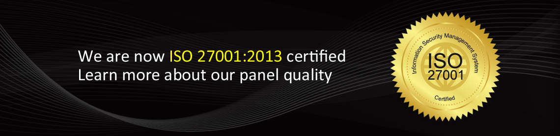 We are now ISO 27001:2013 certified